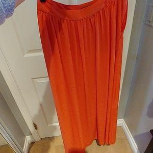 Coral Express maxi skirt